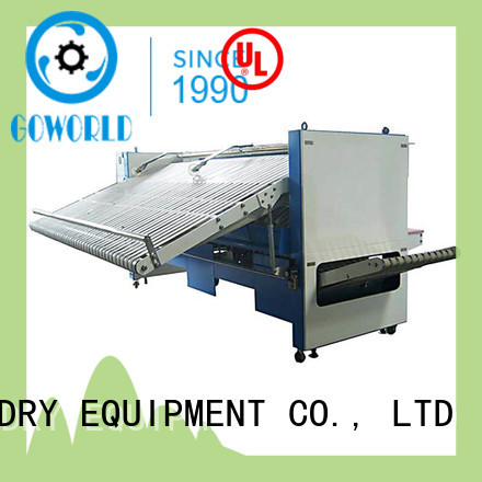 automatic folding machine automatic factory price for laundry factory