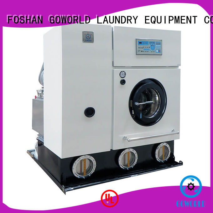dry cleaning equipment suppliers energy saving for hotel GOWORLD
