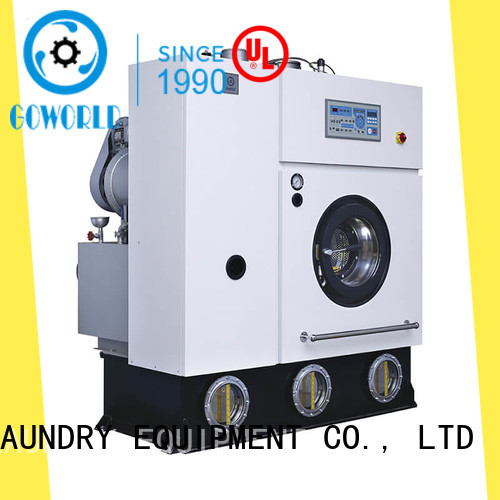 GOWORLD laundry dry cleaning washing machine environment friendly for laundry shop