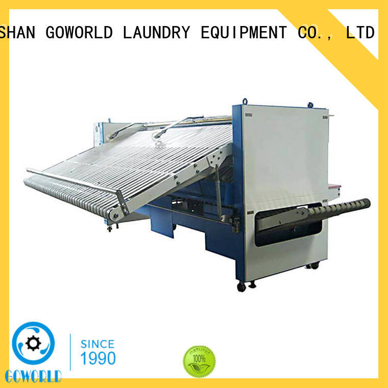 GOWORLD intelligent towel folding machine high speed for textile industries