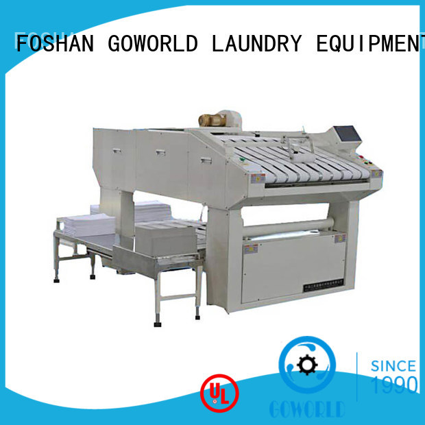 GOWORLD safe automatic towel folder efficiency for hotel