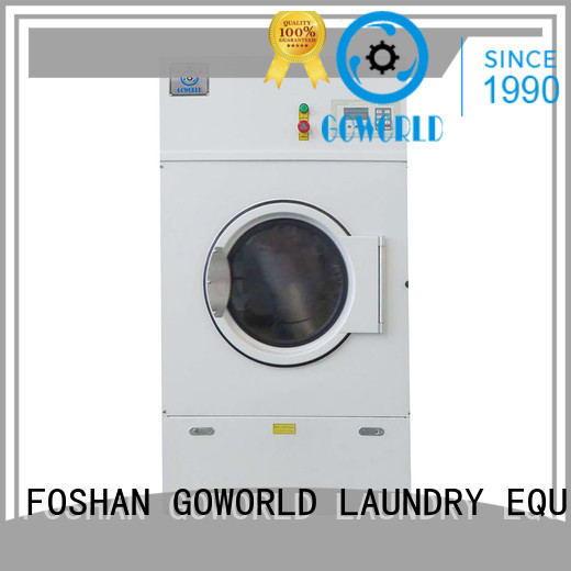 towels Custom industrial gas tumble dryer equipment GOWORLD