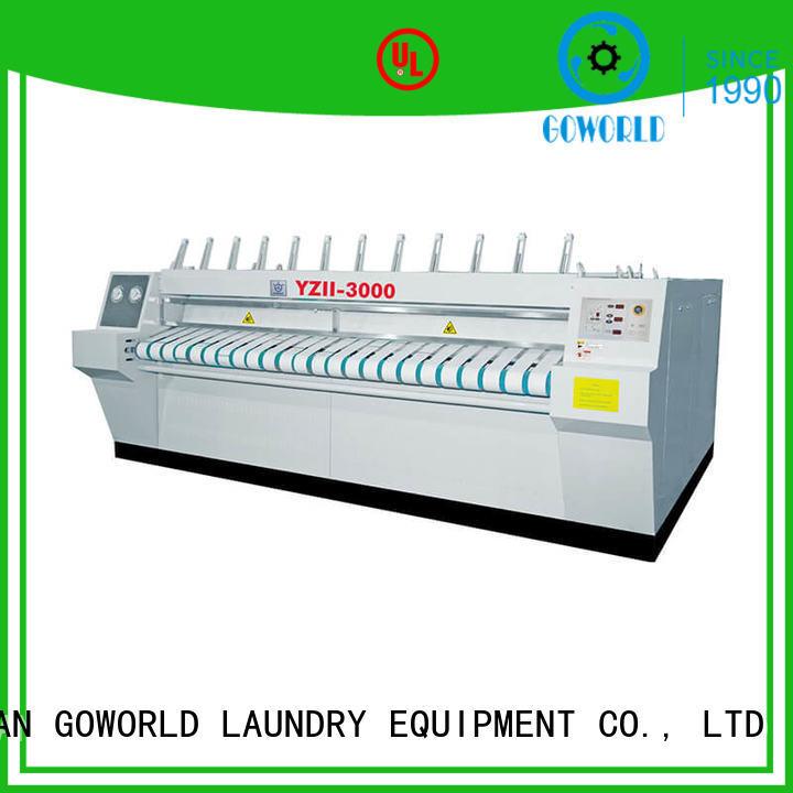 GOWORLD chestroller ironer machine free installation for inns