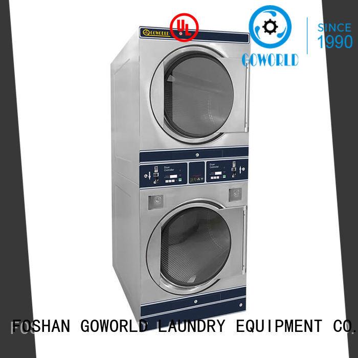 safe use self washing machine combo LPG gas heating for school
