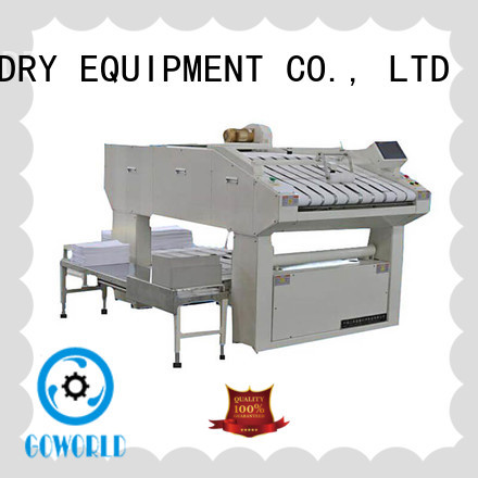 GOWORLD safe towel folder factory price for textile industries