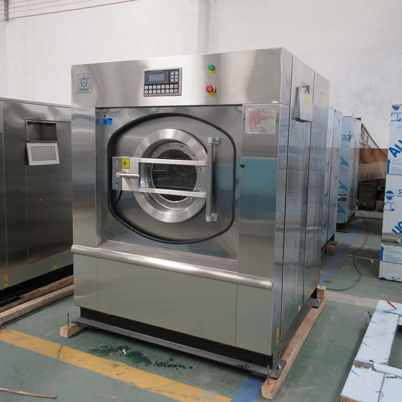 GOWORLD stainless steel washer extractor simple installation for hospital-2