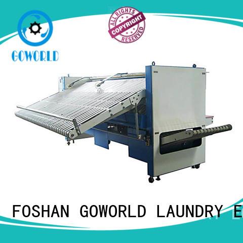 GOWORLD intelligent automatic towel folder folding for textile industries