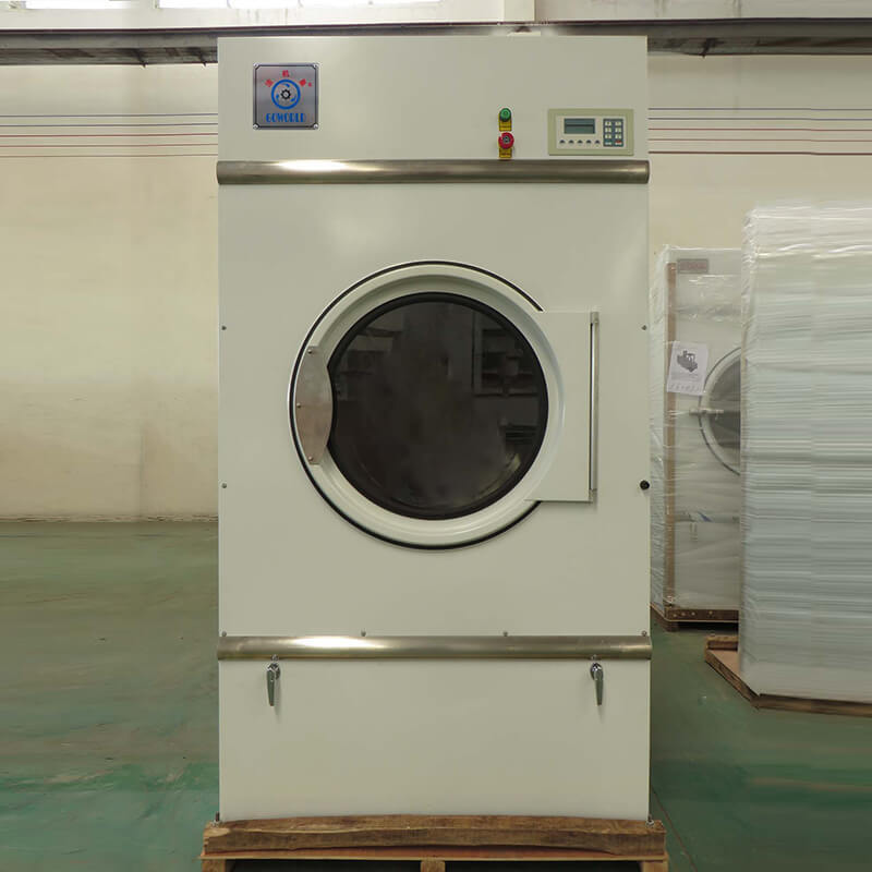 8kg150kg tumble dryer machine low noise for laundry plants GOWORLD-3