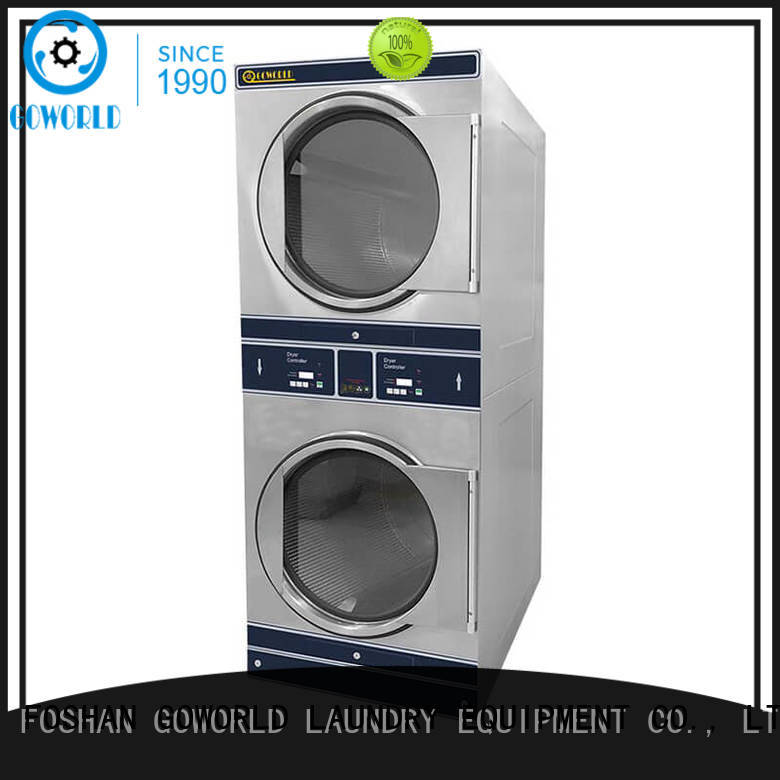 Manual laundry combo washing machine supplier for fire brigade GOWORLD