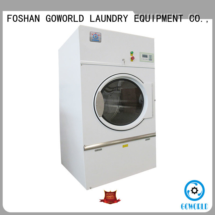 steam gas tumble dryer factory price for laundry plants