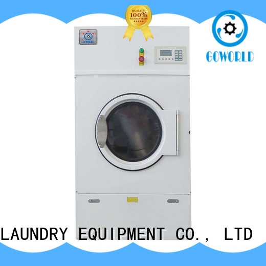 GOWORLD automatic industrial tumble dryer for drying laundry cloth for laundry plants