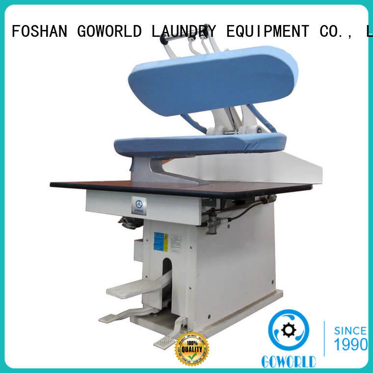 GOWORLD form laundry press machine for hospital