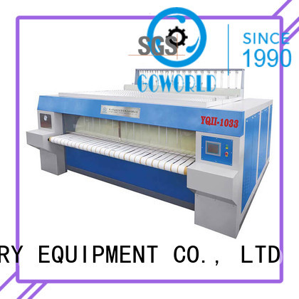 GOWORLD heat proof flat roll ironer factory price for inns