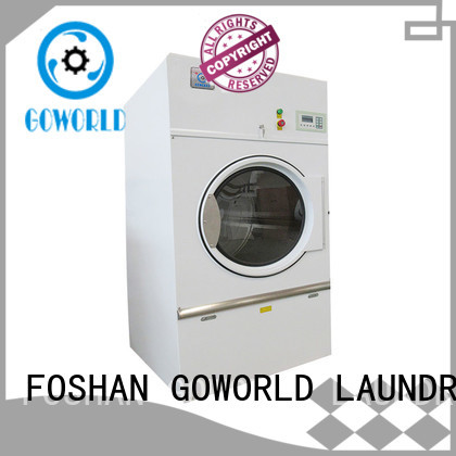 GOWORLD safe industrial tumble dryer factory price for inns