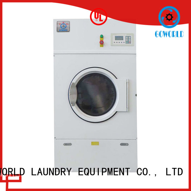 GOWORLD Stainless steel laundry dryer towels for laundry plants