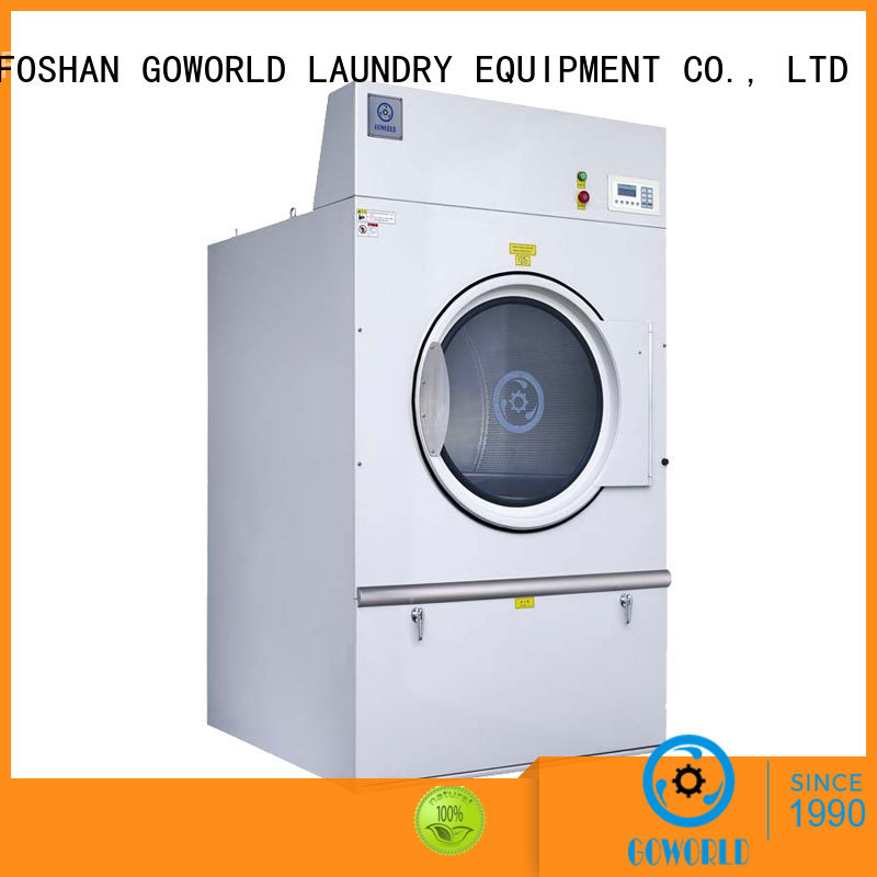 GOWORLD Stainless steel industrial tumble dryer heating for laundry plants