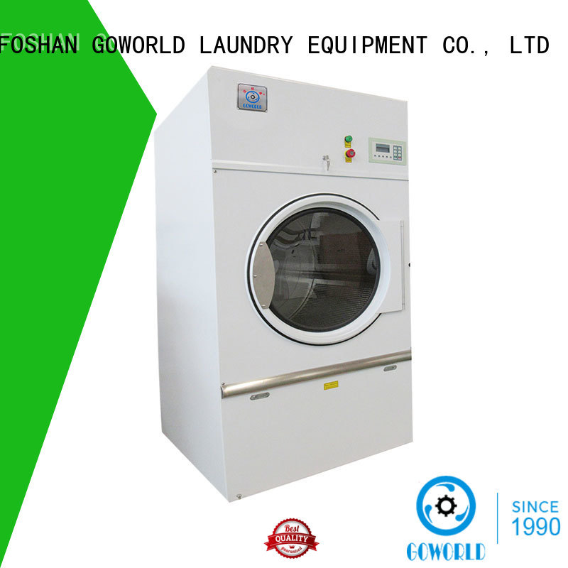 GOWORLD automatic laundry dryer machine low noise for inns