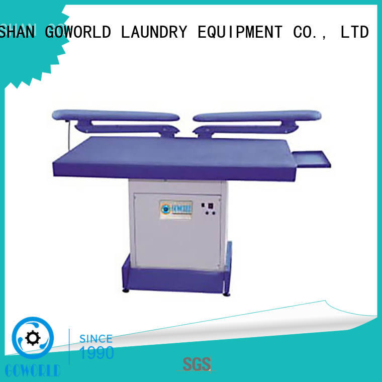GOWORLD practical laundry press machine Manual control for dry cleaning shops