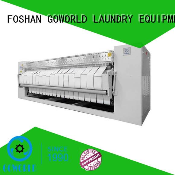 industrial ironer gas roller ironer GOWORLD Brand flatwork ironer