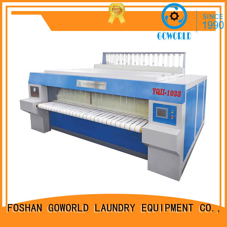 high quality flatwork ironer plant easy use for hotel