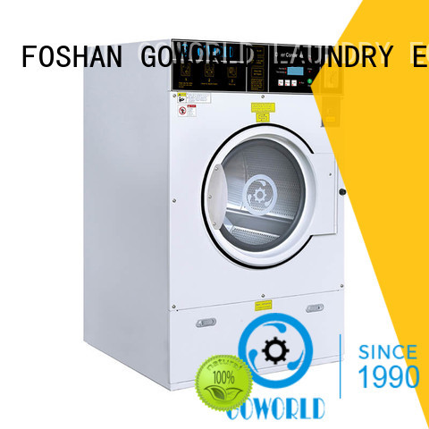 GOWORLD operated self-service laundry machine steam heating for hotel