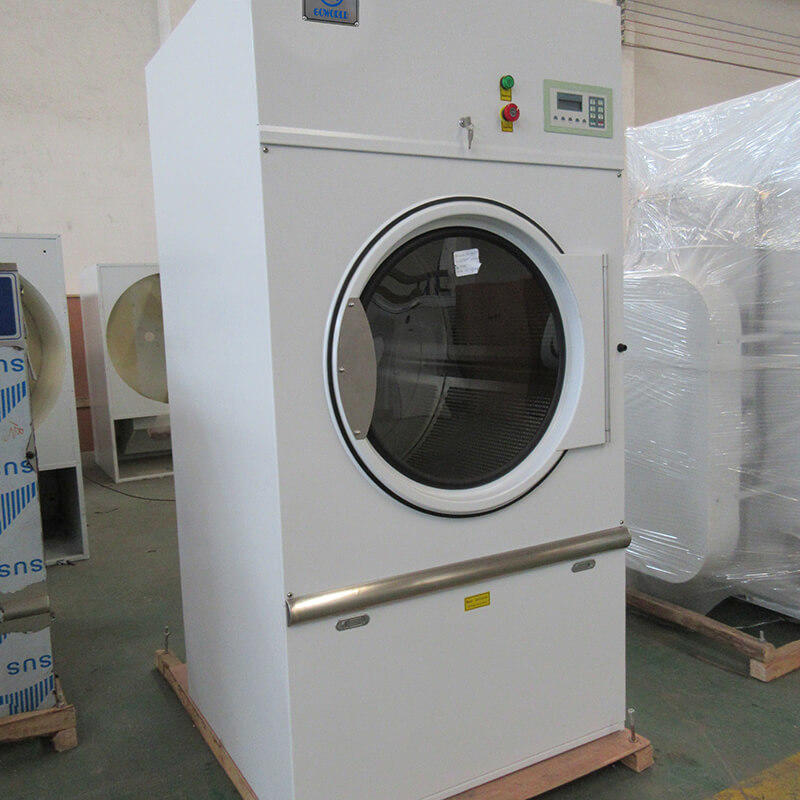 GOWORLD laundry tumble dryer machine simple installation for hospital-2