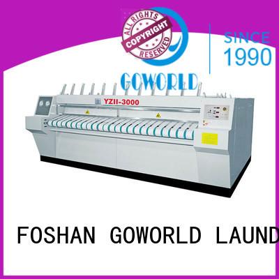 GOWORLD industries flat work ironer machine factory price for inns