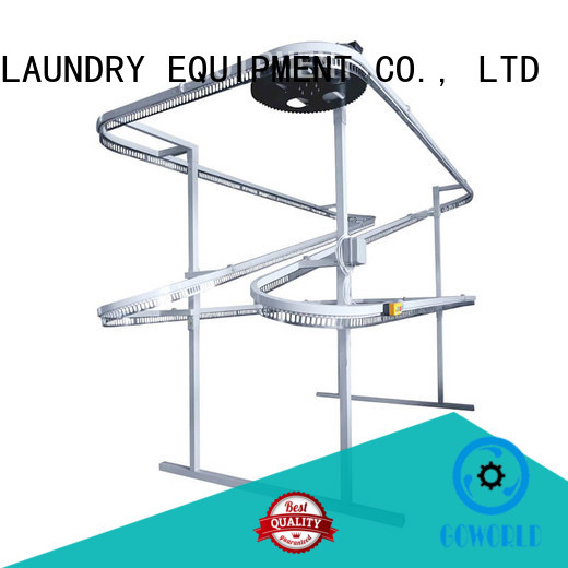 stainless steel laundry conveyor line manufacturer for hotel