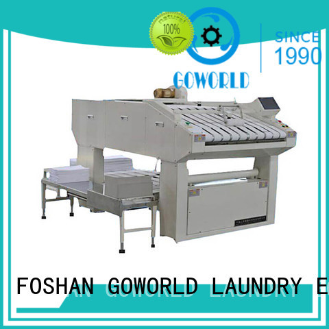 intelligent folding machine industries factory price for textile industries