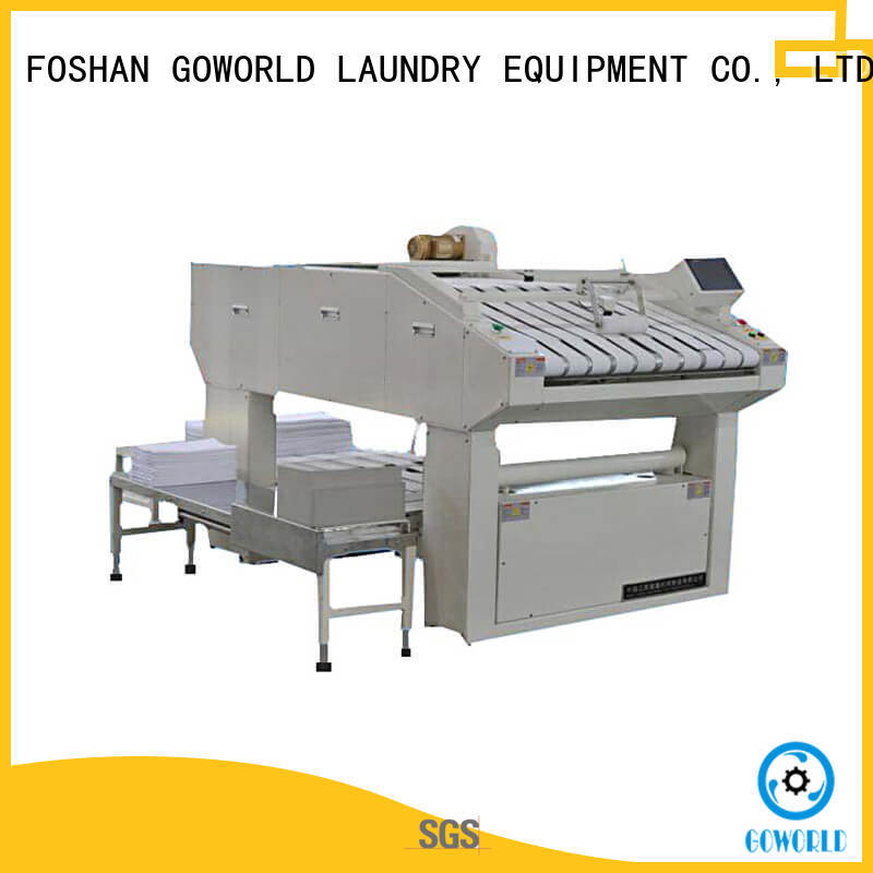 medical commercial laundry folding machine machine for hotel GOWORLD