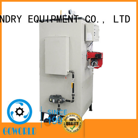 industrial laundry steam boiler low noise for fire brigade GOWORLD