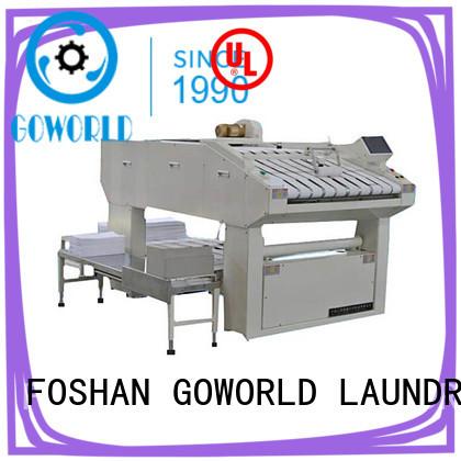 GOWORLD bath folding machine high speed hotel