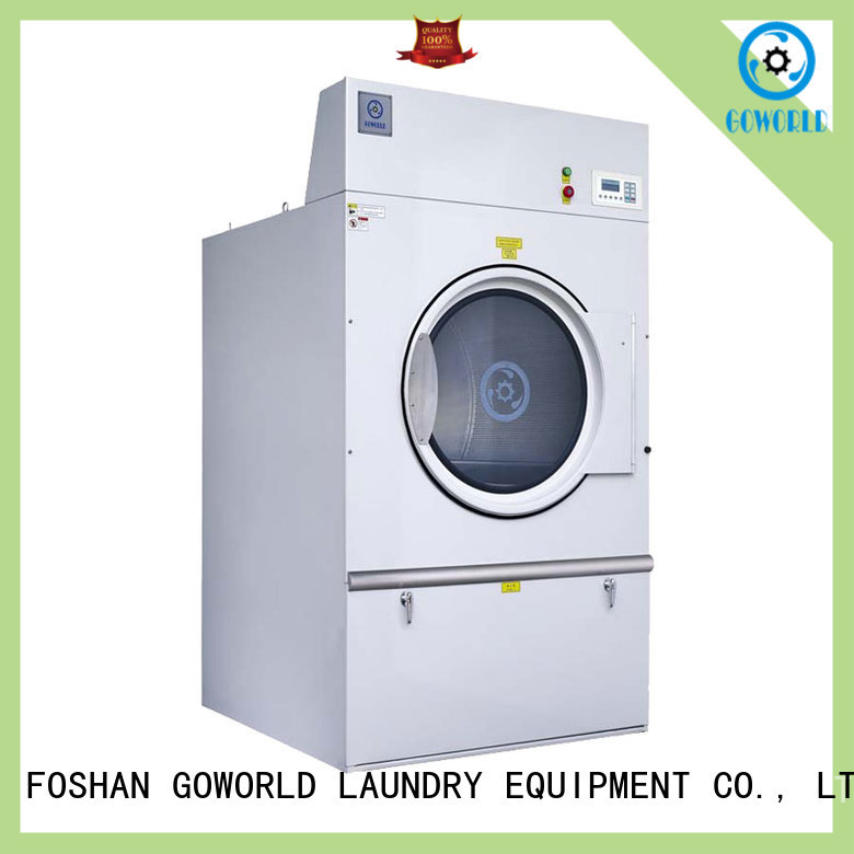 GOWORLD Stainless steel laundry dryer machine steadily for inns