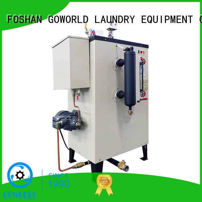 GOWORLD standard diesel steam boiler environment friendly for laundromat