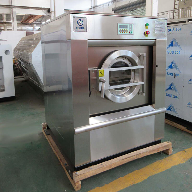 GOWORLD stainless steel washer extractor simple installation for hospital-1