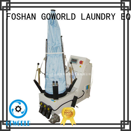 GOWORLD form laundry press machine Manual control for dry cleaning shops
