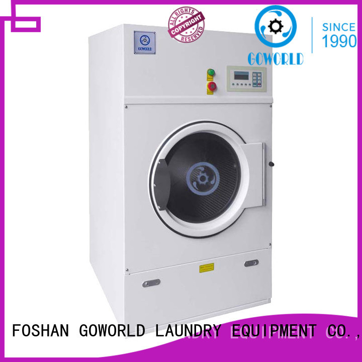 GOWORLD automatic electric tumble dryer for high grade clothes for hotel