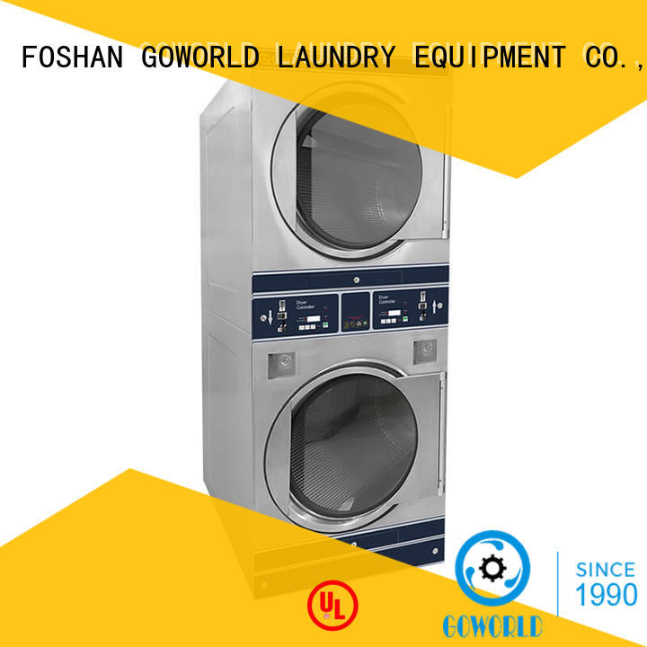 GOWORLD stainless steel card operated laundry machines restaurants for service-service center