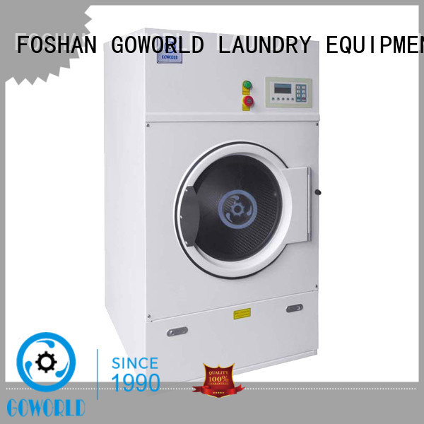 GOWORLD laundry industrial tumble dryer factory price for laundry plants
