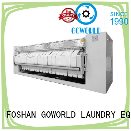 heating gas industrial ironer GOWORLD manufacture