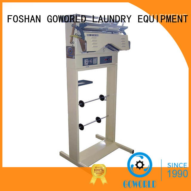 GOWORLD machine laundry conveyor good performance for restaurants