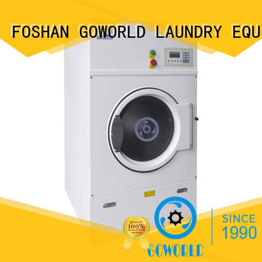 GOWORLD dryer clothes tumble dryer simple installation for hospital