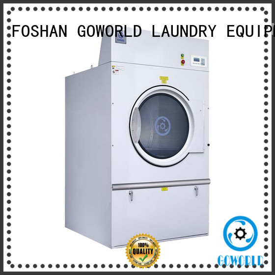 GOWORLD equipment laundry dryer machine simple installation for laundry plants