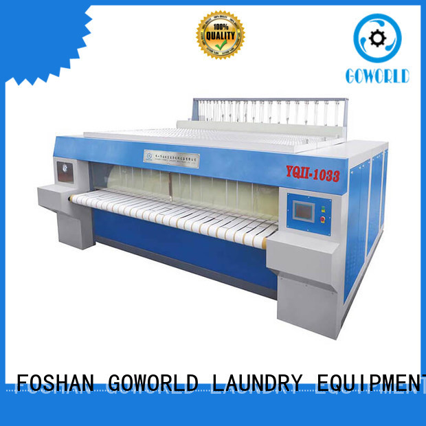 GOWORLD heat proof ironer machine easy use for hotel