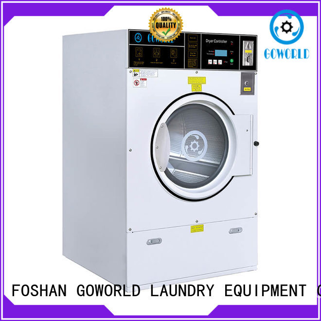 GOWORLD self-service laundry machine natural gas heating for laundry shop