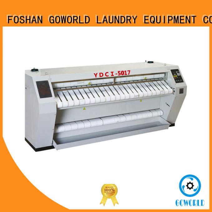 GOWORLD laundry flatwork ironer free installation