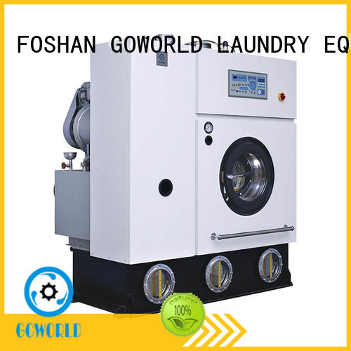 GOWORLD automatic dry cleaning machine China for hotel