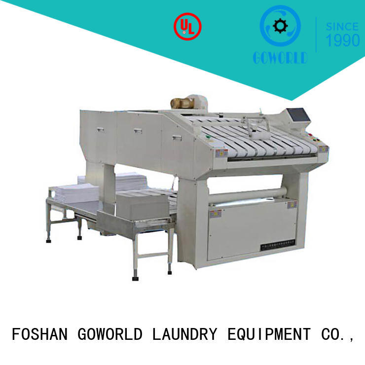 multifunction commercial laundry folding machine intelligent control system for laundry factory GOWORLD