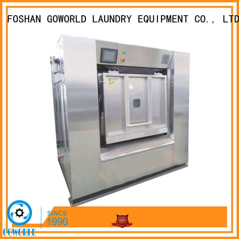 GOWORLD automatic washer extractor simple installation for inns