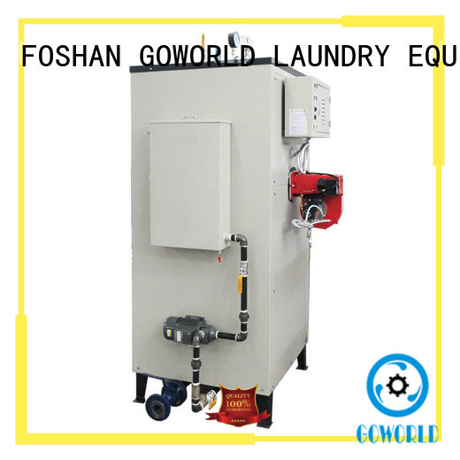 GOWORLD generator laundry steam boiler low cost for fire brigade